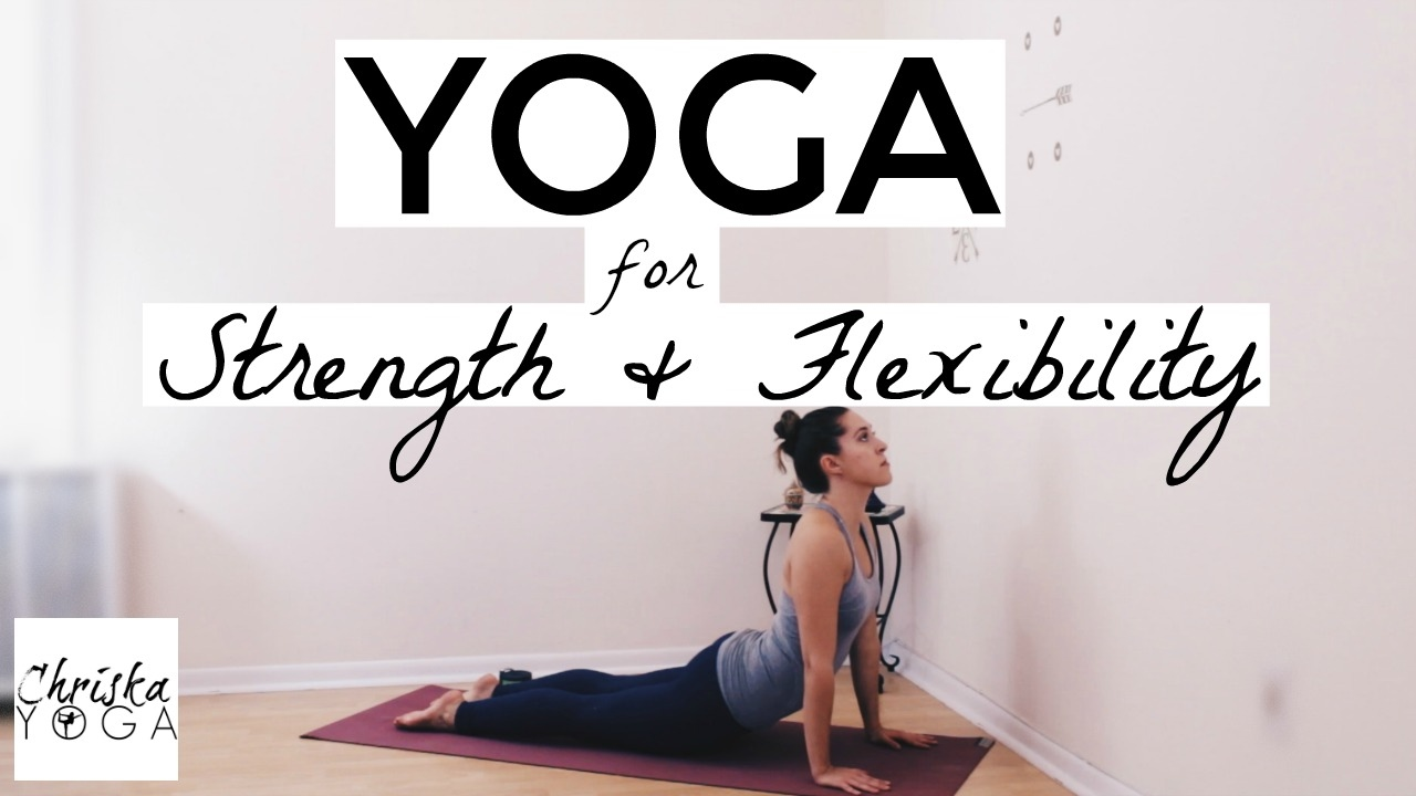 Yoga For Strength and Flexibility - 20 Min Hatha Yoga - Iyengar Yoga Style  - Strong Beginner