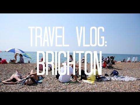Brighton Beach & Pier in England | UK Travel Vlog | LivLoren