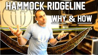 Hammock Ridgeline Setup and Tutorial - Why YOU Need One