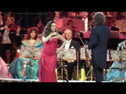Habanera Maastricht 2012 Andre Rieu and sung by Carmen Monarcha