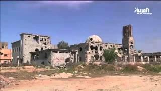 عودة الأهالي إلى منطقة الليثي في بنغازي بعد أن حولها داعش إلى مدينة أشباح