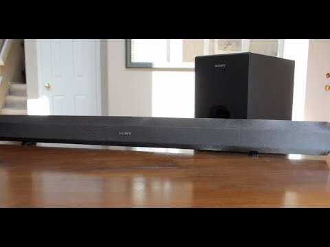 Sony Sound Bar HT-CT60 Unboxing (With Subwoofer)