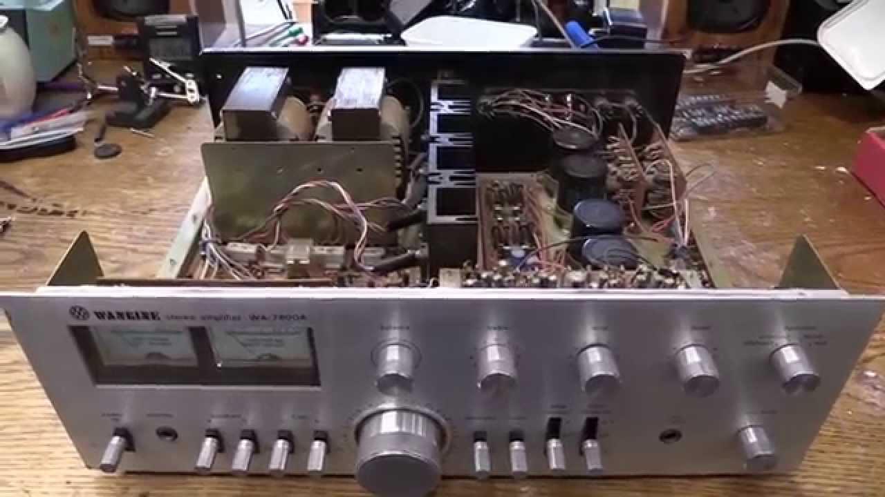 Wangine Hifi Amplifier Teardown Youtube