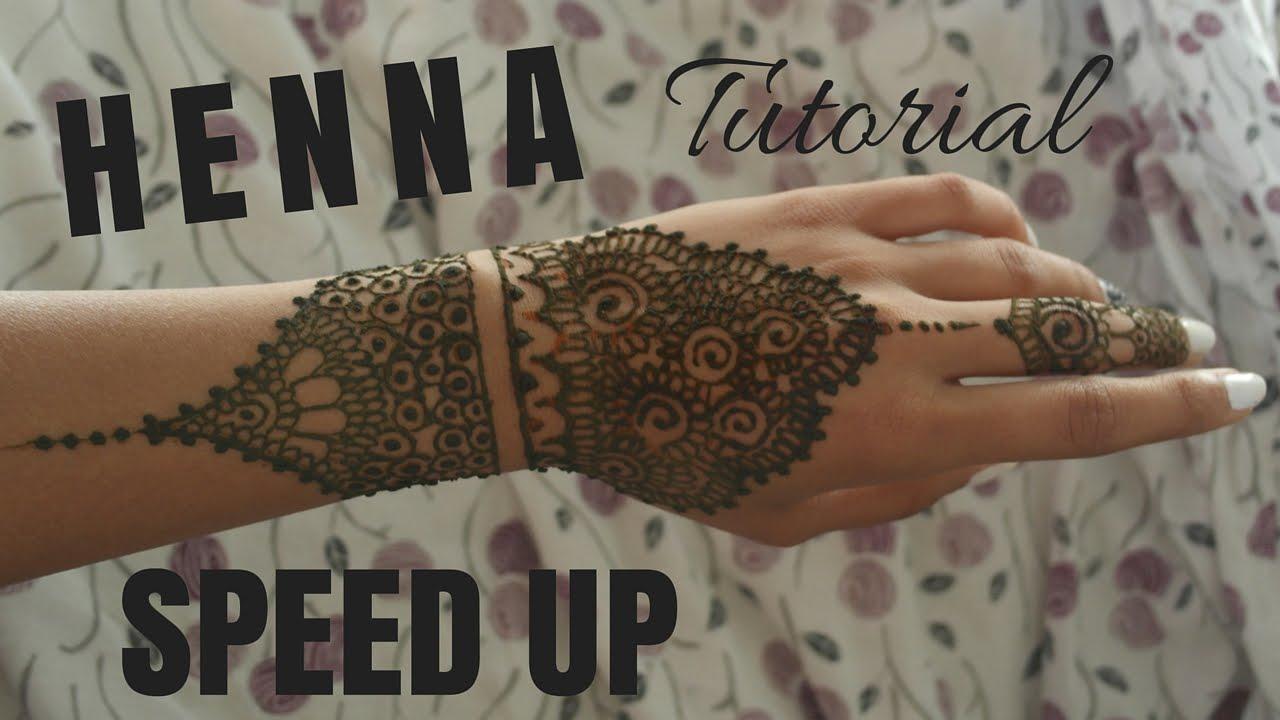 Speed up henna tutorial lavish krish youtube baditri Images