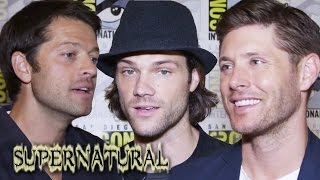 SUPERNATURAL Cast Teases Intense Season 10 - Comic-Con 2014 (Jared Padalecki, Jensen Ackles)