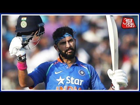 India v England, 2nd ODI: Yuvraj Singh Scores First Century Since 2011 World Cup