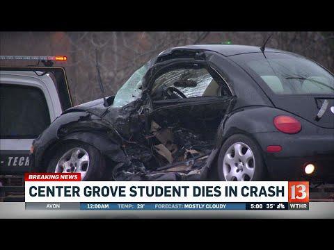 Center Grove student killed in crash