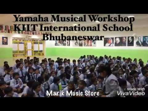 Yamaha Musical Workshop in KIIT International School    Marik Music Store  Bhubaneswar