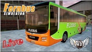 LIVE   Fernbus Coach Simulator - #15 - Na żywo