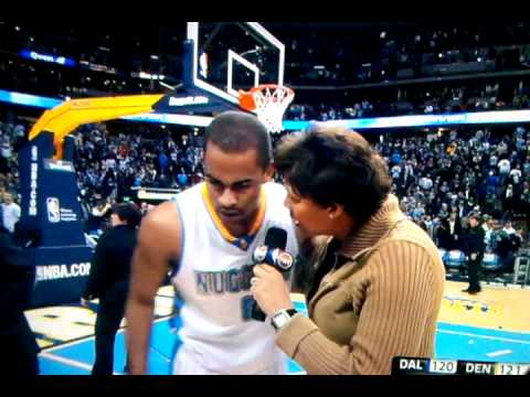 Nba buzzer beater Denver Nuggets Afflalo