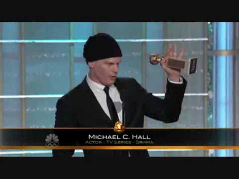 Michael C. Hall Golden Globe Win 2010 HQ