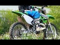 Kawasaki KX250 2-Stroke DirtBike Riding (Raw Sounds)
