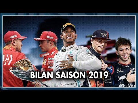 BILAN SAISON F1