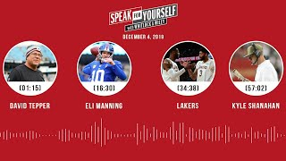 David Tepper, Eli Manning, Lakers, Kyle Shanahan | SPEAK FOR YOURSELF Audio Podcast