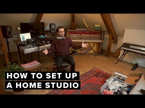 How To Set Up A Home Studio: Part I
