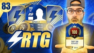 MY AWESOME TOP 100 REWARDS! Road To Fut Champions FIFA 17 #83
