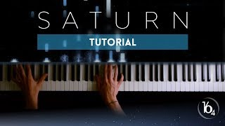 SATURN - Sleeping At Last | Piano Tutorial (Synthesia)