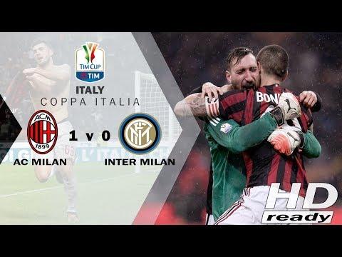 Milan V Inter 1-0 Coppa Italia - Gol Tunggal Cutrone (104') Bawa Milan Lolos | Highlights 28-12-2017