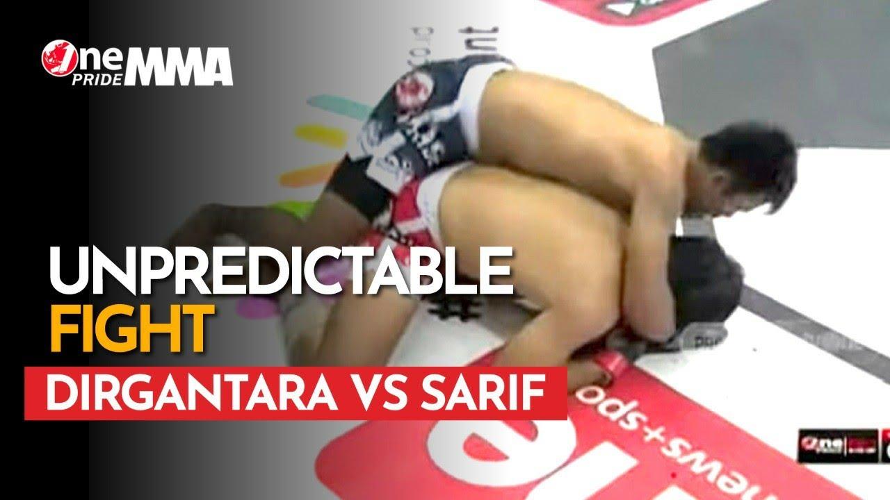 Ngos-ngosan! 😰 Pertarungan Rysanda Julio Dirgantara vs Sarif Saepudin || Unpredictable Fight MMA