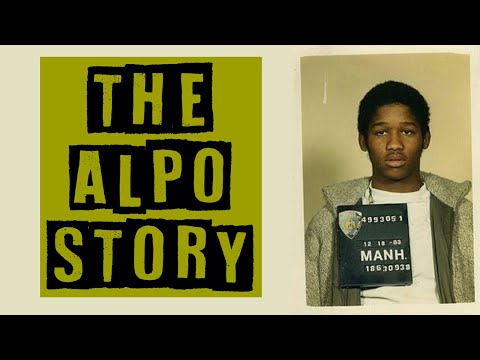"""The Alpo Story a Harlem Legend """"A Gangster and a Gentleman"""""""