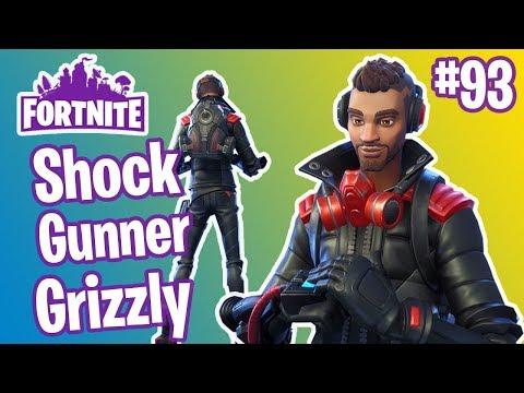 Shadow Ops Hero | Shock Gunner Grizzly Gameplay | Fortnite #93