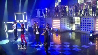 2PM - HANDS UP, 투피엠 - 핸즈 업, Music Core 20110709