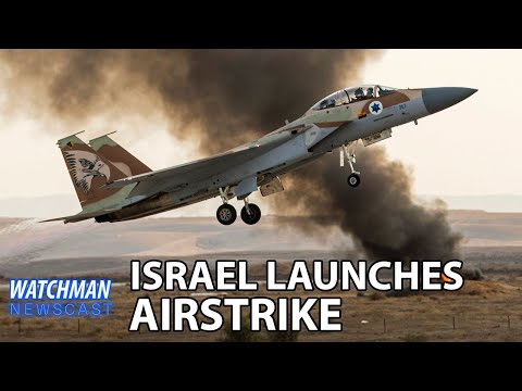 BREAKING: Israel Launches Airstrike Near Damascus; Bible Prophecy Unfolding? | Watchman Newscast