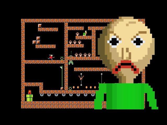 Baldi VS Mario Maze