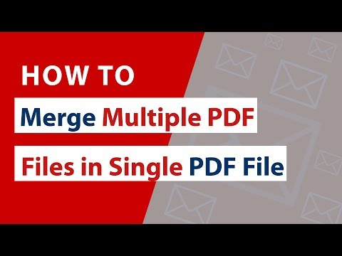 How To Merge Multiple PDF Files In Single PDF File Of Adobe ?