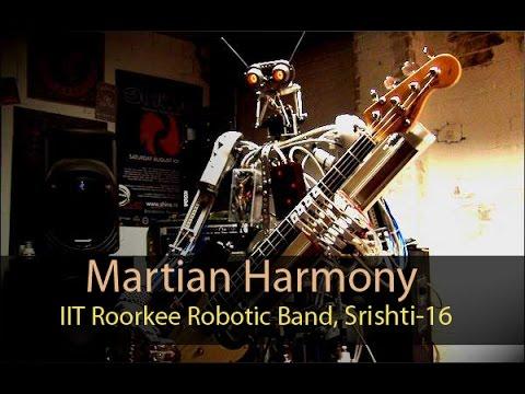 Martian Harmony Intro, Models and Robotics Section, IIT Roorkee