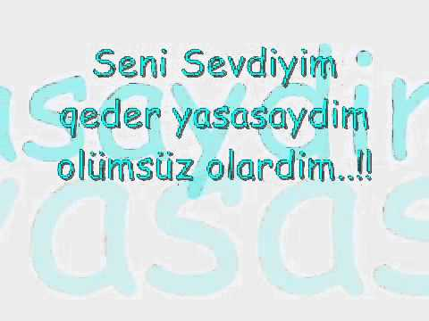 Eltundan))))Azeri sevgi sözleri..