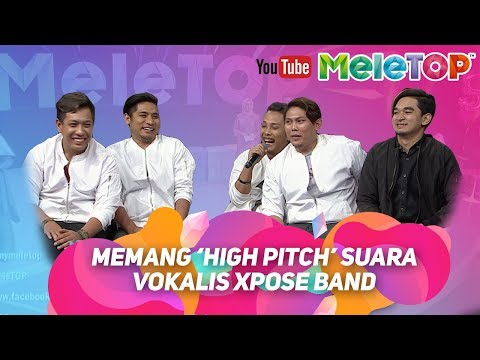 Memang 'high pitch' suara vokalis Xpose Band