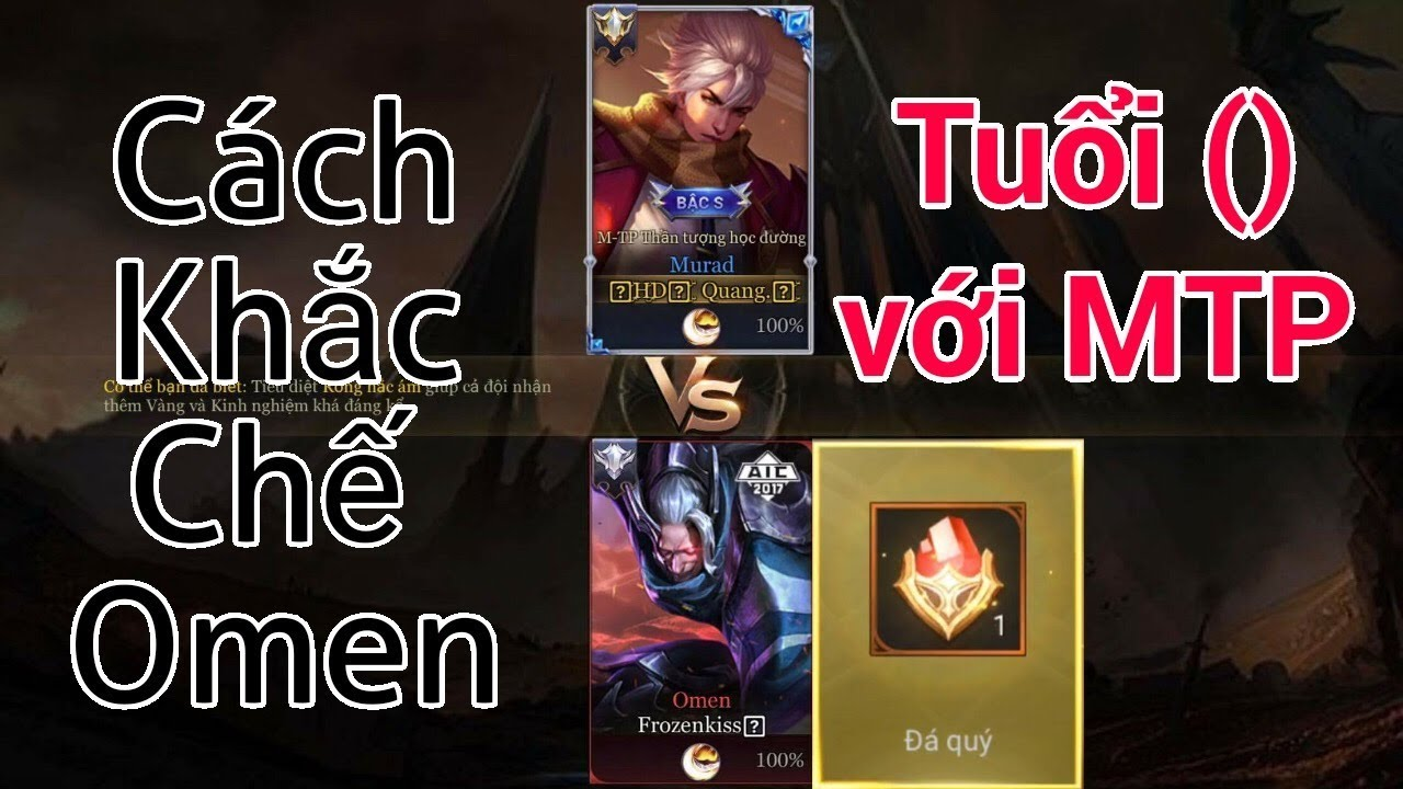 Murad vs omen c ch h nh omen c c d v i murad youtube for Portent vs omen