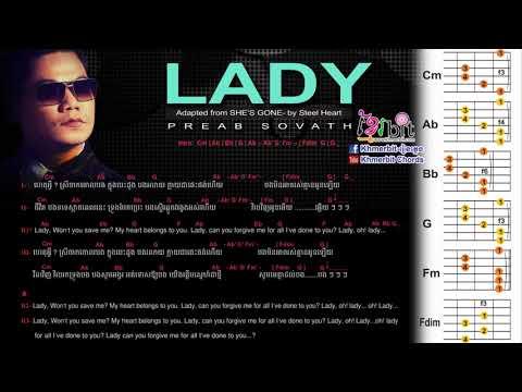 Lady preab sovath   Guitar Chord   She s gone steelheart   www khmerbit com