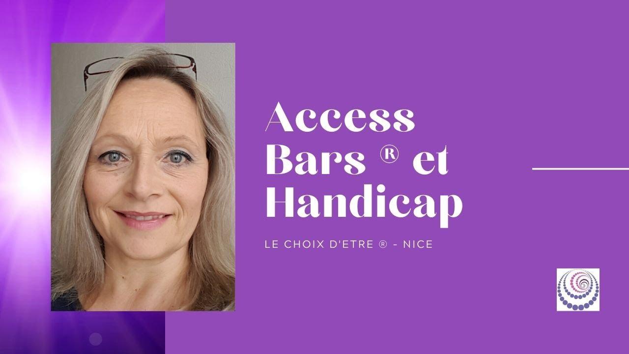 Access Consciousness ® et le handicap