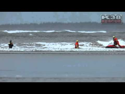 USCG Helicopter Rescue Swimmers K38 Training
