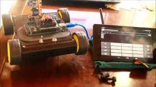 Motor serial control With NEXUS7 on YouTube