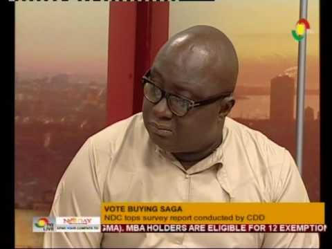 Discussing vote buying saga, ECG privatisation & oil production -  NewDay  - 20/8/2016