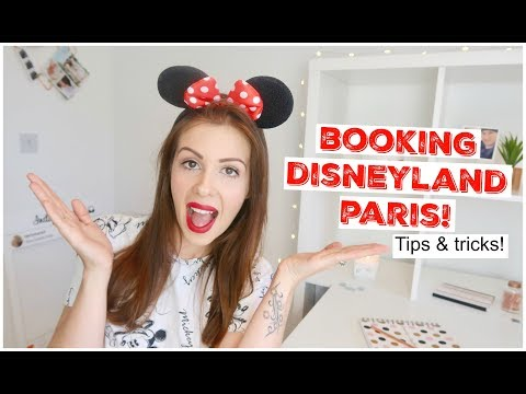 BOOKING DISNEYLAND PARIS - HOW MUCH DID IT COST?! TIPS & TRICKS! | KERRY CONWAY