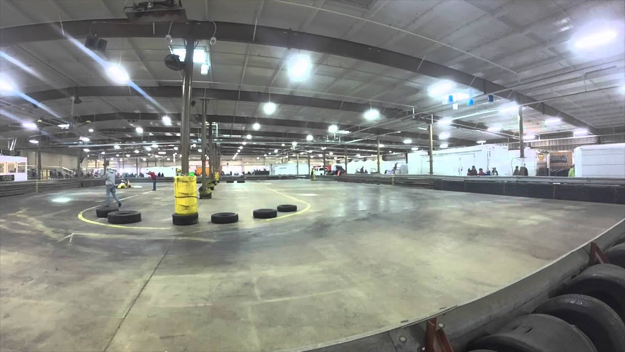 Buckeye indoor 1 4 midget racing