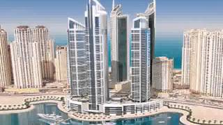 Studio Apartment At Bay Central West, Dubai Marina, With Sea View