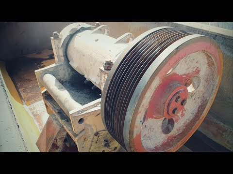 Капитальный ремонт щековой дробилки ЩДС 250