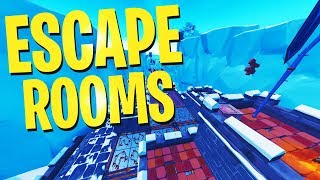 Fortnite Creative INSANE ESCAPE ROOM Maps WITH CODES