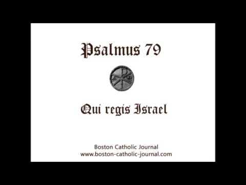 Psalm 79 in Latin