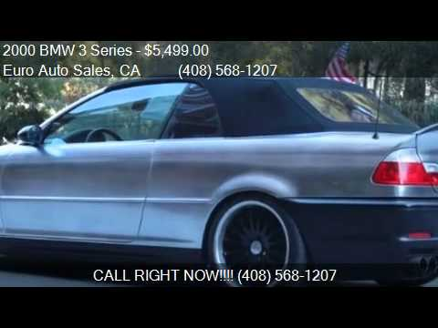 BMW Series Ci Convertible For Sale In Santa Clara YouTube - Bmw 323i convertible for sale