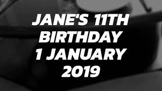 Jane Callista Buka Kado 11th Birthday