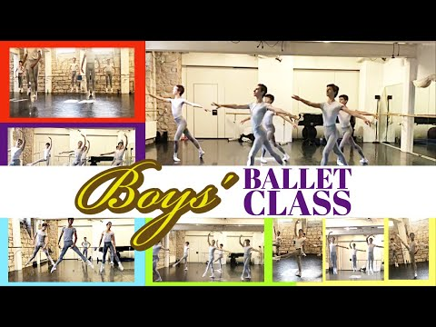 Boys´Ballet Class Workout (Ballet School)