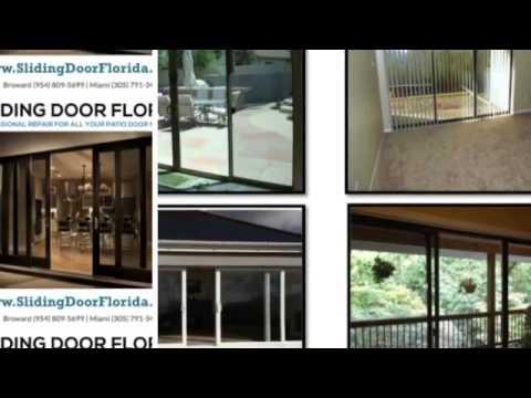 MIAMI + BROWARD:. AFFORDABLE SLIDING DOOR REPAIR 954.809