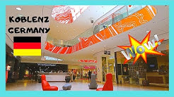 GERMANY: Spectacular Forum 🛍️ shopping mall in Koblenz
