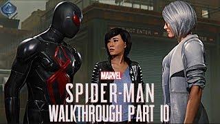 Spider-Man PS4 Walkthrough Part 10 - Silver Sable!